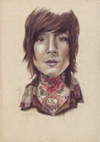 the comedown_Oliver Sykes by kamelicious
