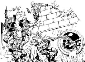 Yo Joe Cover sneak peek by RobertAtkins