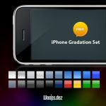 iPhone Gradation Set by woopsdez