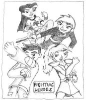 Various - Fighting Heroes by malachitecat