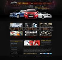 hardings auto by ijographicz