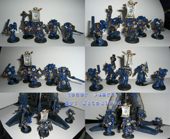 Ultramarines Honor Guard by jstncloud