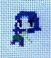Mini Misty Cross Stitch by sparklepeep