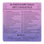 30 Days Fairy Tales Art Challenge - FRENCH by coda-leia