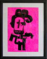 Pink-Type Robot by object000