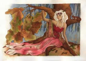 Lady of Oaks by bofink