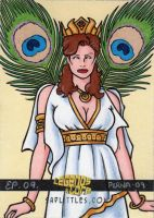 Hera Queen of the Greek Gods by ElainePerna