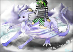 CE: Ice Dragon and Warrior by Crazy-Cat009