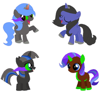LunaxSombra Adopts CLOSED by FinalSmashPony