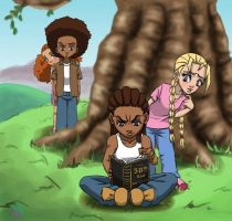 The Boondocks: Readin'? by Marion-Light