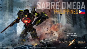 Pacific Rim Jaeger: Sabre Omega (Philippines) by Paddy-One