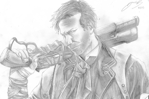 Booker Dewitt by jadza54