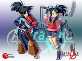 Ataraxia Online: South Elves by Goldsickle