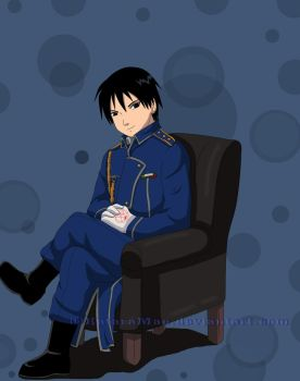 Roy Mustang by Katchihe