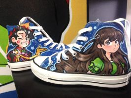 Jesterday Converse shoes by Joyfool