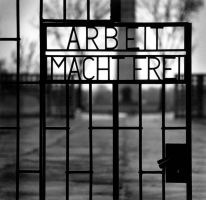 Concentration Camp Gate by AHeartofIce