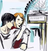 This tall to ride (Petra x Levi) by sinemoras