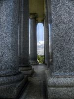 Of Clouds and Columns - STOCK by matrix7-stock