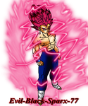 Redit Super sayian god by Evil-Black-Sparx-77