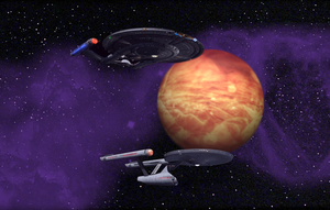 Two Enterprise Hell Planet by Richard67915