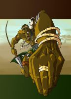 African Warrior by immilesaway