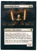 MTG Altered Stoneforge Mystic by Arvcis