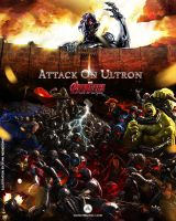 Attack On Ultron by avid971