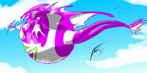 Blimp Dragon by SpottedAlienMonster