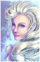 Elsa by SweetLhuna