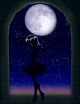 In The Moons Light -shadow- by Sakuyamon