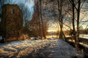 By The Old Mill by taffmeister