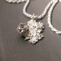Rough Diamond necklace by Jealousydesign