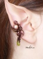 Fantasy Elven Ear Cuff by AmeliaLune