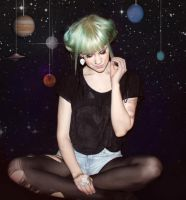 in space// by eplepus
