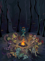 Campfire Story by ponywise