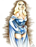 Emma Frost old style by Romax25