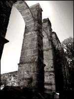 roman aqueduct by weygand