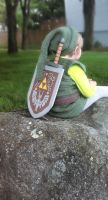 Link at rest by Feilan