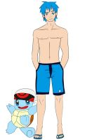 Vertigo Squirtle Beach costume by Shimgu