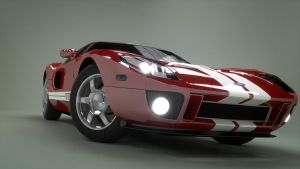 Ford GT Front by Hiddenus