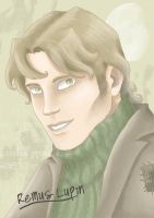 Portrait Remus Lupin by Blacks-Bitch