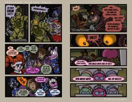 FNAF4 Comic - House Party - Page 62 - 4-6-17 by Mattartist25