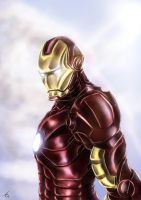 Iron Man by alecyl