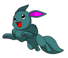 Eevee for ask-Jinx-thepony by Dib-the-survivor