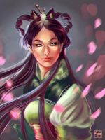 Wei , New Year Personification by Avasariah