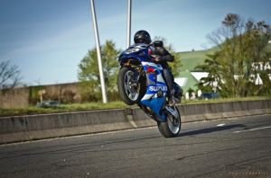 GSXR STUNT WHELLING by julsscorp