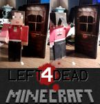 Left 4 Dead papercraft Zoey by Notason89