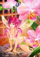 Flower Fairies collection - Orchid Fairy by shawli2007