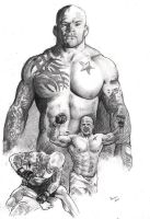 Snowman Jeff Monson - MMA UFC by Alleycatsgarden