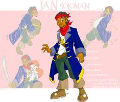 OC Profile: Ian Solomon by Aeolus06